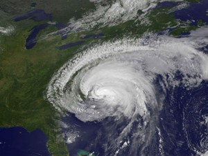 NASA image of Hurricane Irene